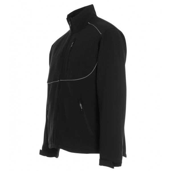 TAMPA | MASCOT® INDUSTRY 10001-883-09 Softshell jakke Sort-369