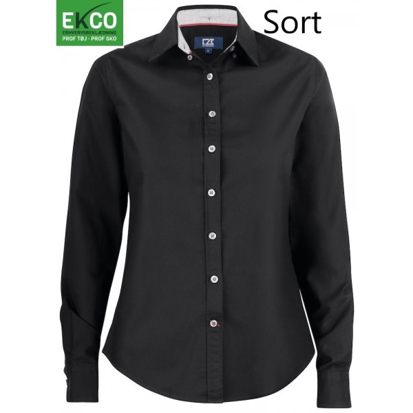 Dameskjorte Cutter and Buck 352401 Belfair Oxford Shirt Ladies lækker oxford skjorte Dame/ lady Mange farver-3124