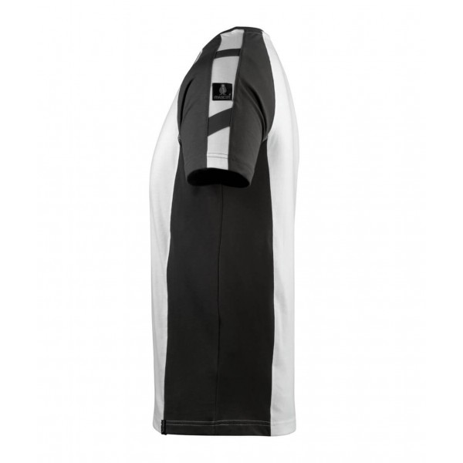 POTSDAM | MASCOT® UNIQUE 50567-959-0618 T-shirt Hvid/ mørk antracit-3111