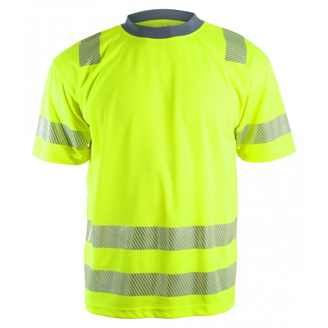 YouBrands Sundsvall T-shirt gul INDUSTRI-kvalitet-312