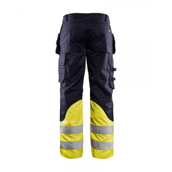 Multinorm Buks Inherent Blåkläder Marineblå/High vis Gul INDUSTRI-kvalitet-349