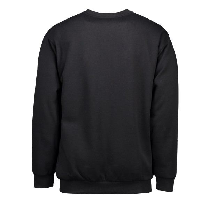 Klassisk sweatshirt | lomme fra ID Sort 0600-327