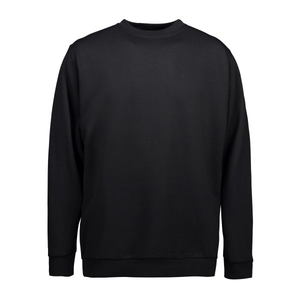PRO wear klassisk sweatshirt fra ID sort INDUSTRI-kvalitet-3XL-38
