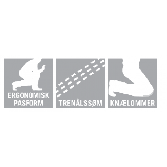 LEEDS | MASCOT® SAFE SUPREME15679-860-0917 Bukser med knælommer sort/gul-352