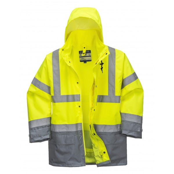 Hi-Vis Executive 5-i-1 Jakke fra Portwest S768 INDUSTRI-kvalitet-367