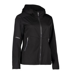 Letvægts softshell damejakke Sort 0837-20