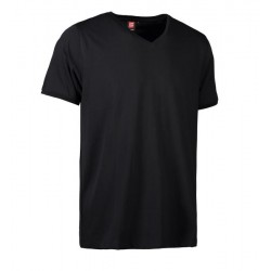 PRO wear CARE V-hals herre T-shirt | fra ID Sort 0372-20