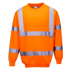 Portwest Hi-vis sweatshirt B303 Orange INDUSTRI-kvalitet-20