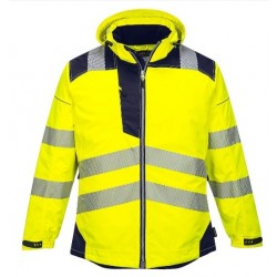 Portwest Vision Hi-Vis Vinter Jakke Gul/Dark Navy INDUSTRI-kvalitet-20
