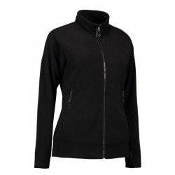 PRO wear ZipnMix Active dame fleece fra ID Sort INDUSTRI-kvalitet-20