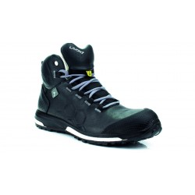 LAVORO SOLO metalfri letvægts vandtæt sikkerhedsstøvlet i fulnarv læder uden syninger på oversiden-20