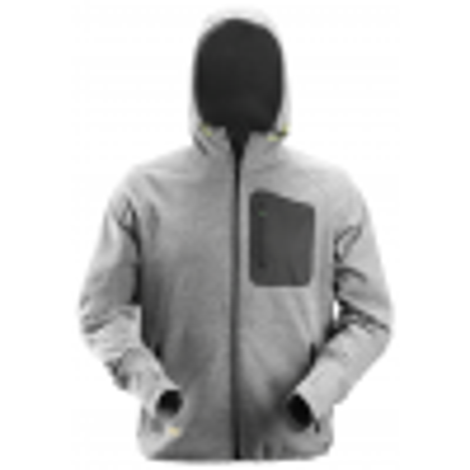 Snickers Workwear 8041 Hættetrøje i fleece Grå-017