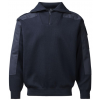 Clipper C.C.FIFTY-FIVE Nato troyer/herre-pullover med zip-hals-20366 Navy-034