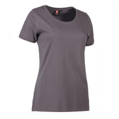 PRO wear CARE O-hals dame T-shirt | fra ID - Silver grey- 0371