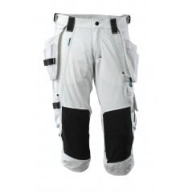 MASCOT® ADVANCED 17049-311-06 Knickers med knæ- og hængelommer - Hvid