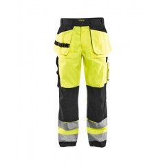 Blåkläder | 1533 HIGH VIS BUKS, High Vis Gul/Sort